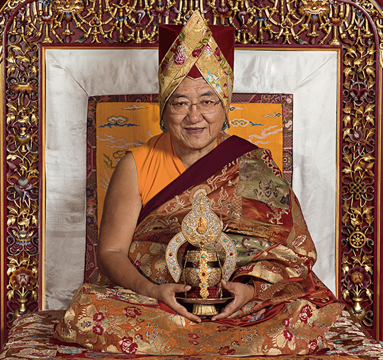 His Holiness the Sakya Trichen - His Holiness the Sakya Trichen (the