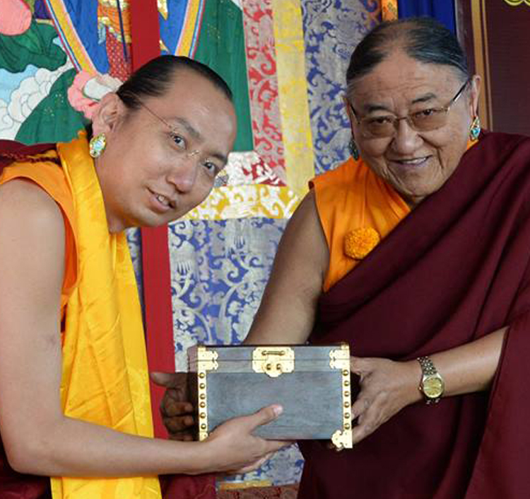 Enthronement of the 42nd Sakya Trizin - His Holiness the